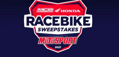Motoconcepts Honda Race Bike Sweepstakes