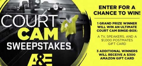 AETV Court Cam Sweepstakes