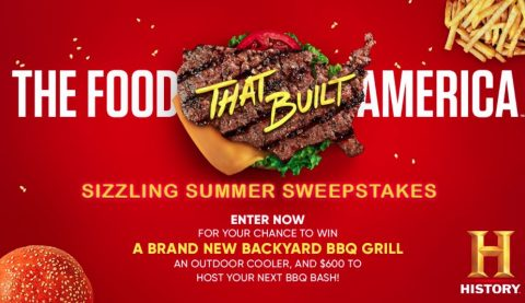 History Channel Food That Built America Summer Sweepstakes