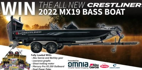 Omnia Crestliner MX19 Bass Boat Sweepstakes