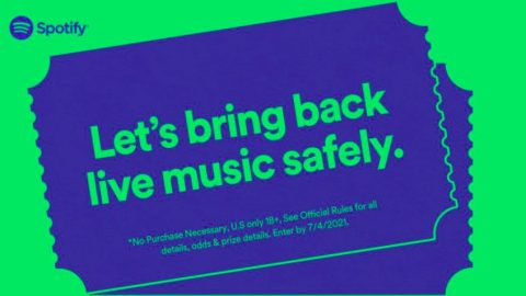 Spotify Safe Before Shows Sweepstakes