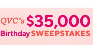 QVC $35,000 Birthday Sweepstakes