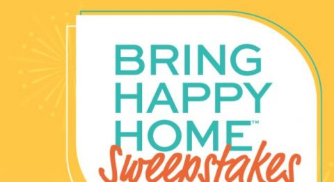 Bring Happy Home Sweepstakes