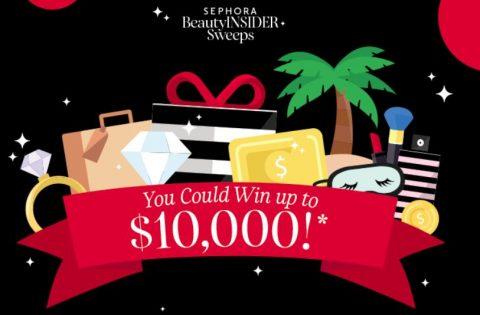 Sephora Beauty Insider June 2021 Sweepstakes