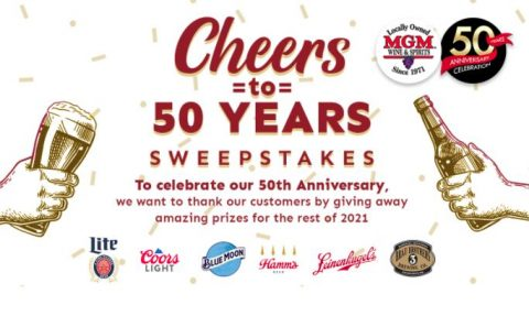MGM Cheers to 50 Years Sweepstakes