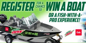MTN DEW Boat Sweepstakes