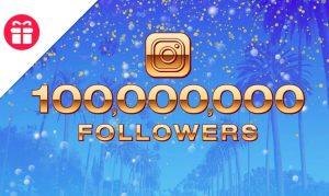 Ellen's 100M Followers Giveaway
