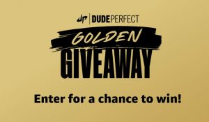 Amazon Dude Perfect Golden Giveaway