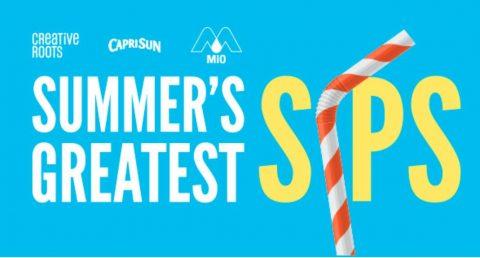 Capri Sun Summer's Greatest Sips Sweepstakes