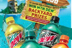 Mtn Dew Baja Blast Ultimate Backyard Sweepstakes