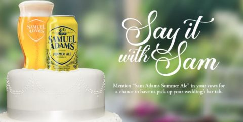 Samuel Adams Summer Wedding Video Contest