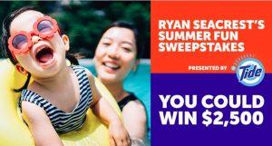 Ryan Seacrest's Summer Fun Sweepstakes