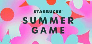 Starbucks Summer Game 2021 Sweepstakes