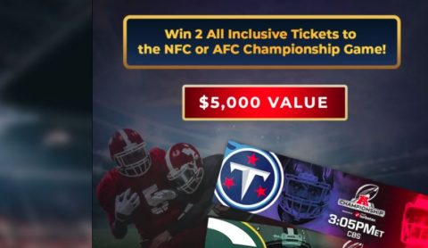 BioVirt NFC or AFC Championship Game Sweepstakes