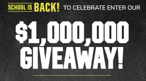 Children's Place School is Back $1,000,000 Sweepstakes