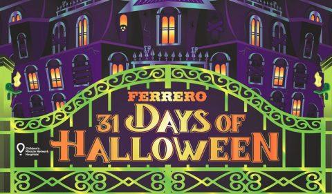 Ferrero 31 Days of Halloween Sweepstakes