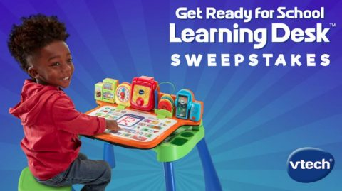 VTech Toys Get Ready For School Sweepstakes