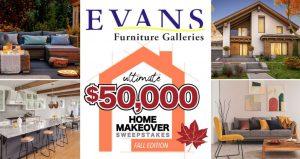 USA Today $50,000 Home Makeover Sweepstakes