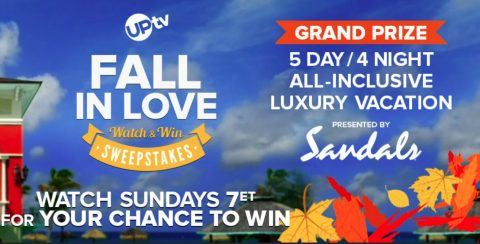 UPTV Fall in Love Watch and Win Sweepstakes