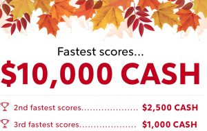 Rocket Mortgage Fall Into Cash Sweepstakes