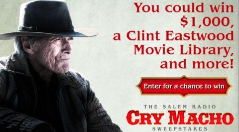 Salem Radio Cry Macho Sweepstakes