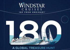 Windstar Cruises 180° Global Treasure Hunt Sweepstakes