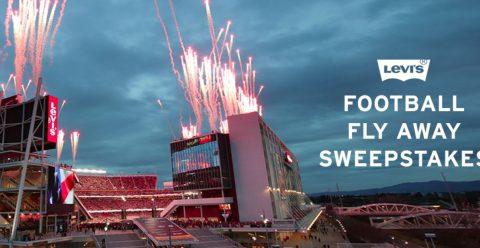 Levi's Football Flyaway Sweepstakes