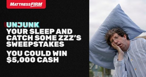 Ryan Seacrest's Mattress Firm Unjunk Your Sleep Sweepstakes