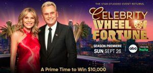 Celebrity Wheel of Fortune $10,000 Giveaway III