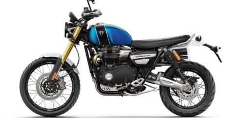 No Time to Die Triumph Scrambler Sweepstakes