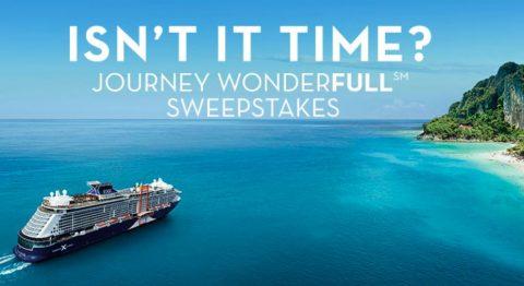 Celebrity Cruises Journey WonderfullSM Sweepstakes