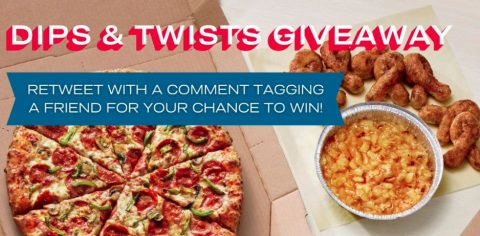 Domino's Dips & Twists Twitter Giveaway