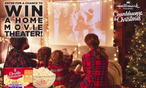 Snack Watch and Win a Home Theater Sweepstakes