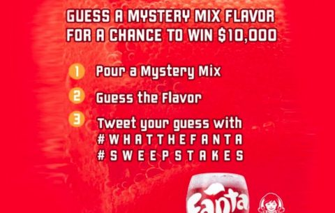 What the Fanta Mystery Mixes Sweepstakes