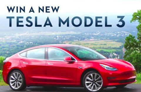 ChristGoal Tesla Model 3 Sweepstakes